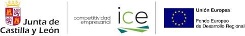 Logotipos Junta de Castilla y León, ICE y UE