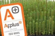 Plantas con certificado Applus ISO 9001